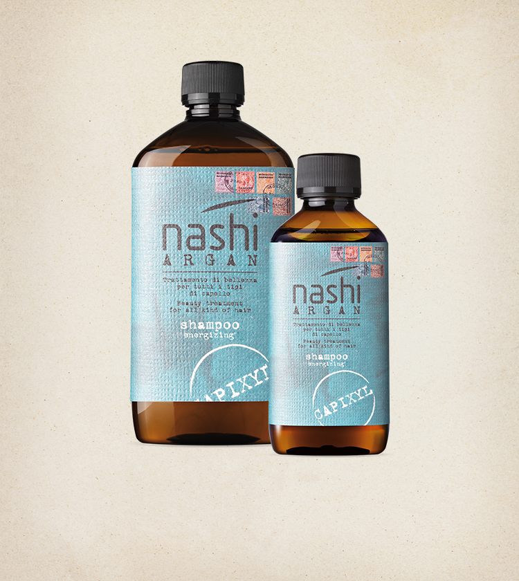 Nashi Argan Shampoo Energizing Trattamento Energizzante Anticaduta